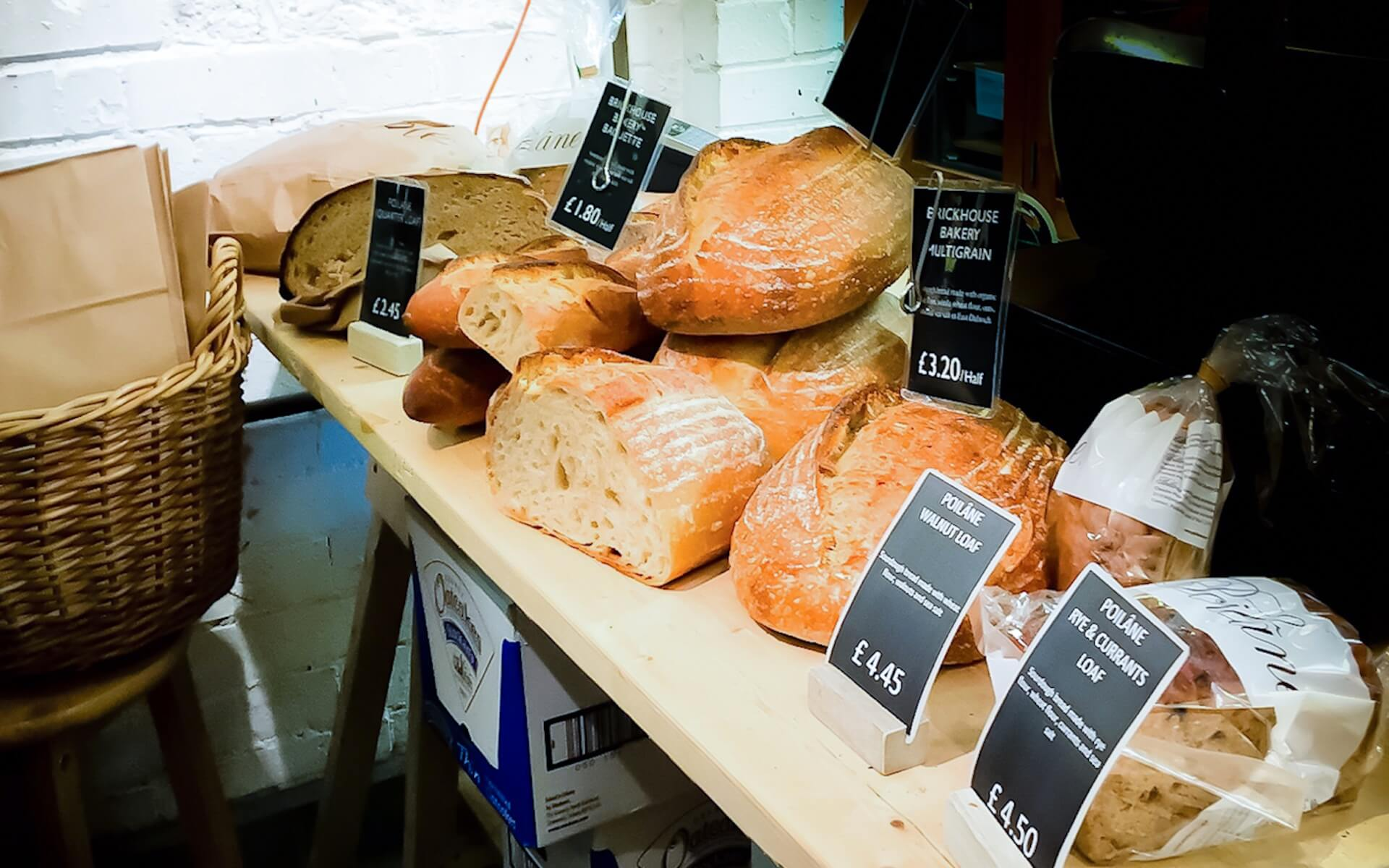 What Mel Did - Brick House Bread, Borough Market, London
