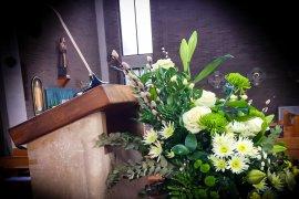 What mel Did - church flowers