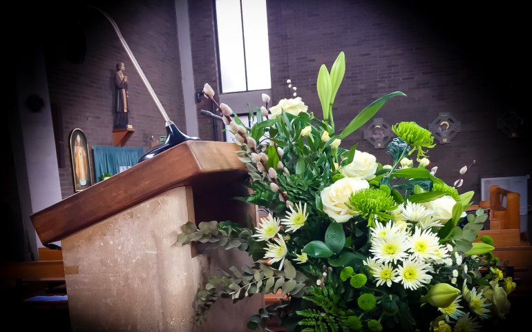 What mel Did - church flowers