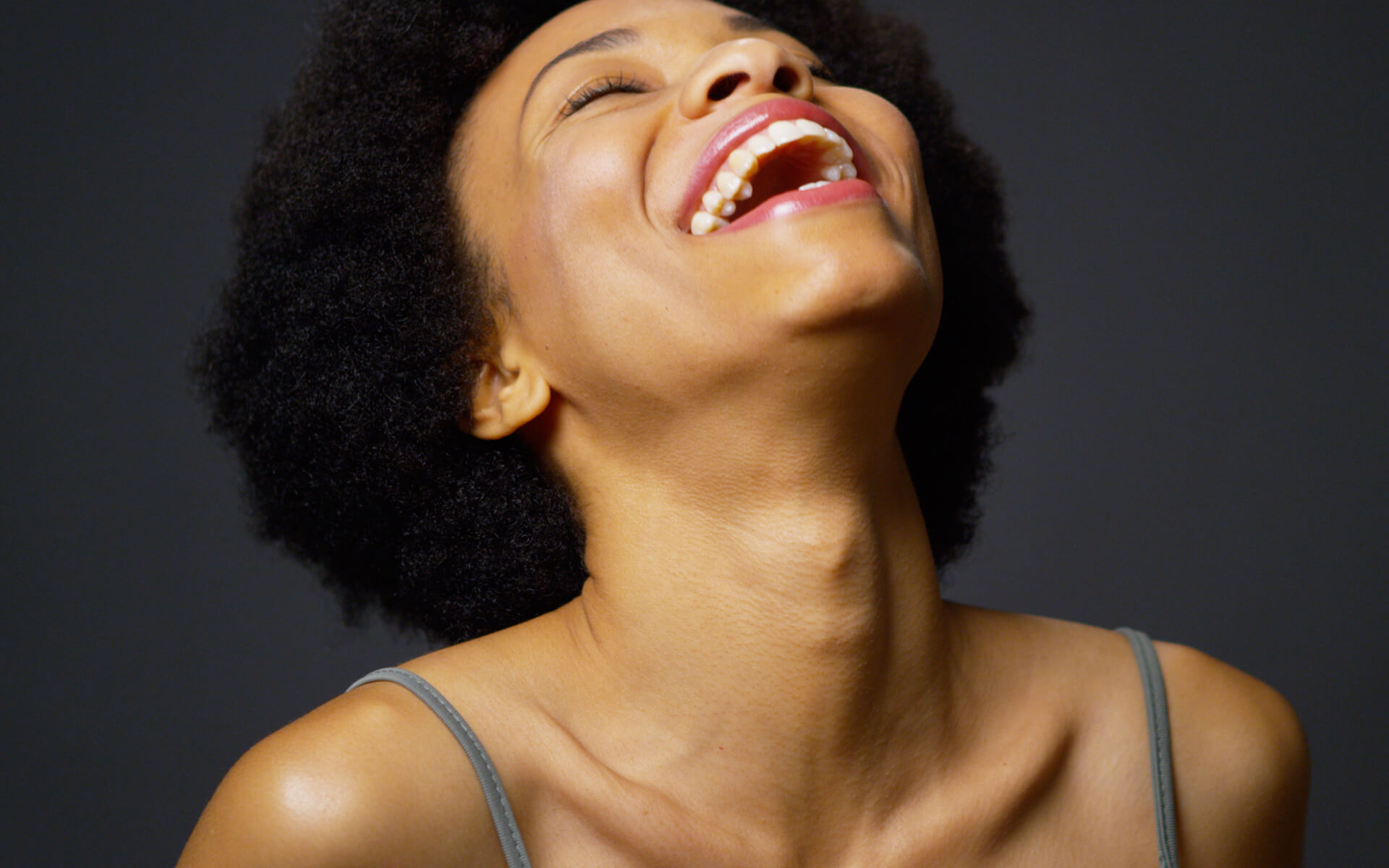 What Mel Did - black woman laughing
