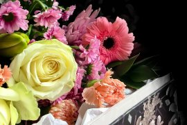 What Mel Did - Surprise flowers