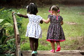 What Mel Did - two little black girls