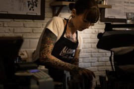 What Mel Did - Alchemista coffee house and barista Kerri