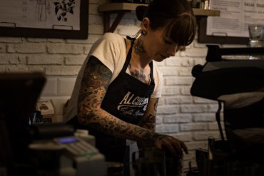 What Mel Did - Alchemista coffee house and barista Kerri