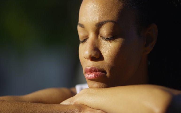 What Mel Did - black woman thinking