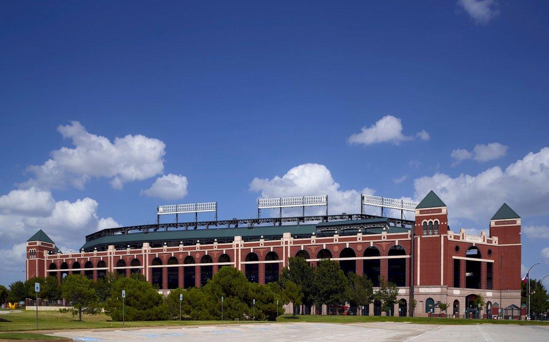 What Mel Did - Texas Rangers baseball stadium