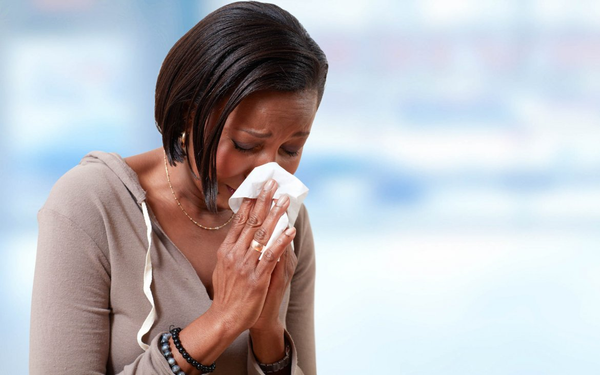 What Mel Did - black woman with flu