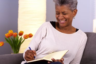 What Mel Did - mature black woman with grey hair