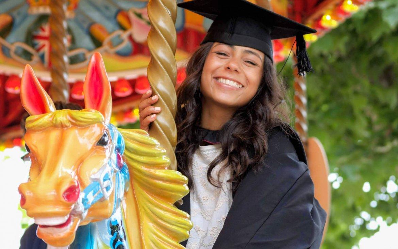 What Mel Did - Morgan graduation and funfair horse
