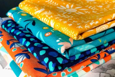 What Mel Did - fabric fat quarters