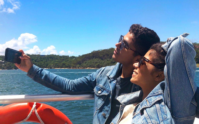 What Mel Did - Sydney, Australia, ferry with MCF, BHFIII